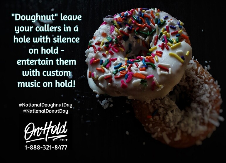 National Doughnut Day - OnHold.com