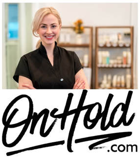OnHold.com Beauty Music On Hold Messaging for Salons & Spas