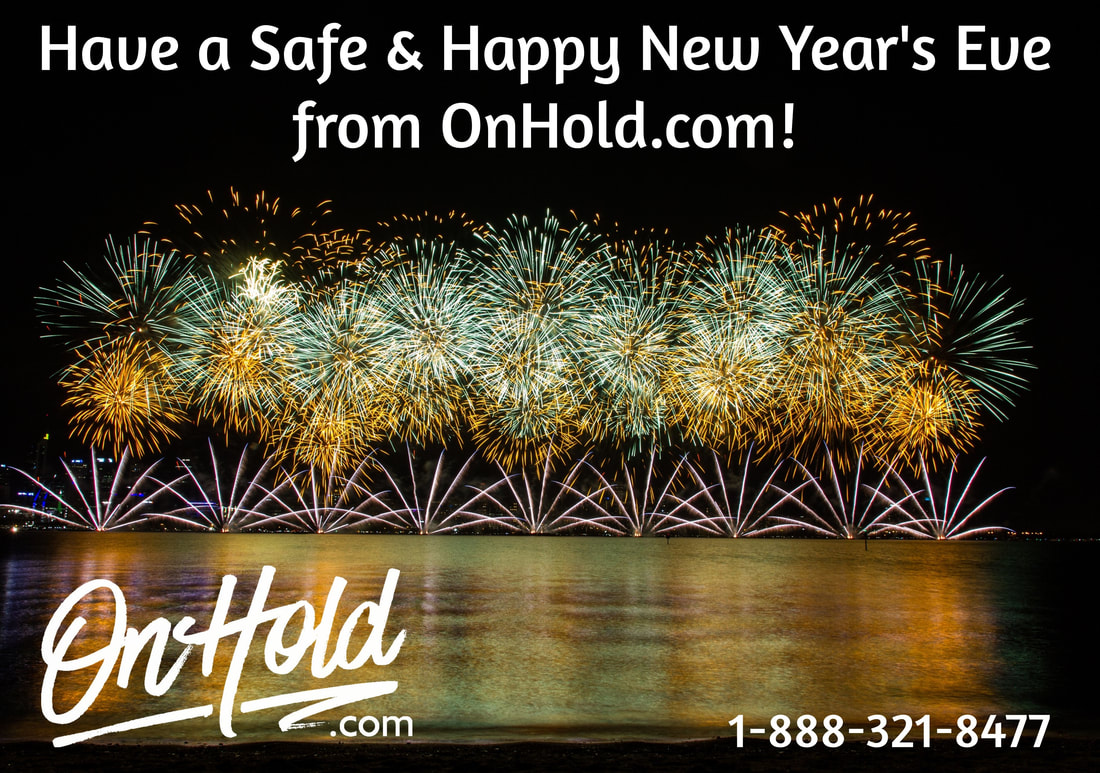 Happy New Year's Eve from OnHold.com