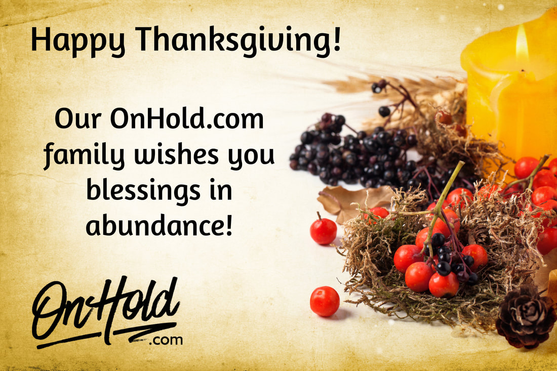 Happy Thanksgiving from OnHold.com!