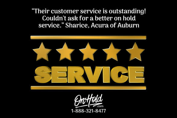 Acura of Auburn, MA 5-Star Review of OnHold.com