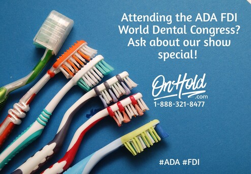 Attending the ADA FDI World Dental Congress? Ask about our show special!