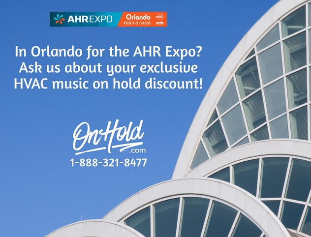 HVAC Music On Hold Marketing AHR Expo