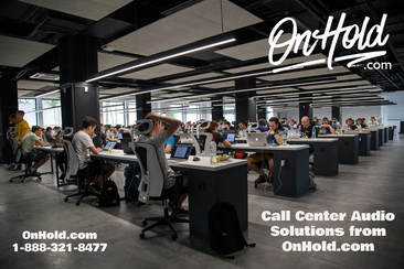 OnHold.com Call Center Customized Voice Prompt and Music On Hold