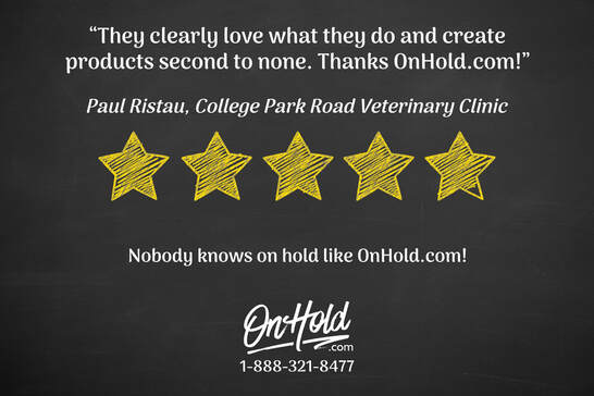 College Park Road Veterinary Clinic Google Review of OnHold.com
