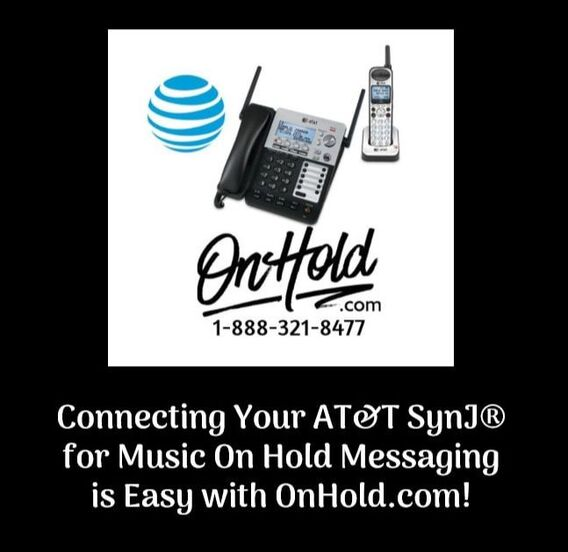 Connecting Your AT&T SynJ® for Music On Hold Messaging