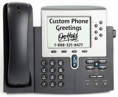 Custom Phone Greetings from OnHold.com