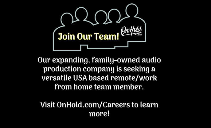 Join Our Team! Remote / Work from Home (USA Based) –Versatile Full Time Position for Audio Production Company