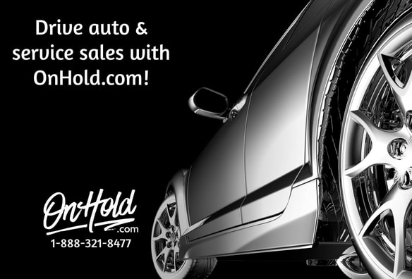 OnHold.com Automotive Marketing On Hold