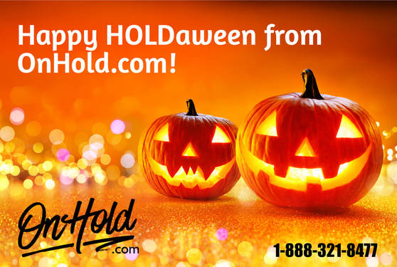 Happy HOLDaween from OnHold.com