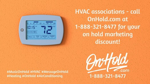 OnHold.com HVAC Marketing On Hold