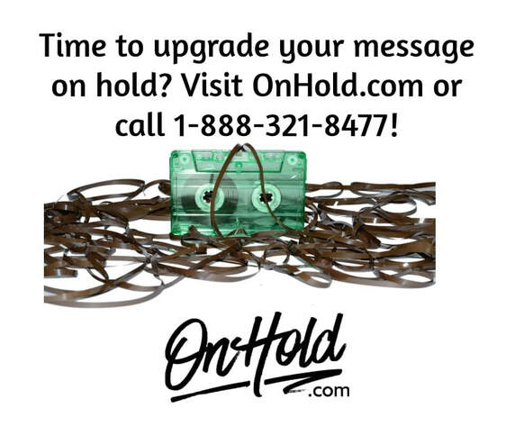Upgrade Your Message On Hold with OnHold.com