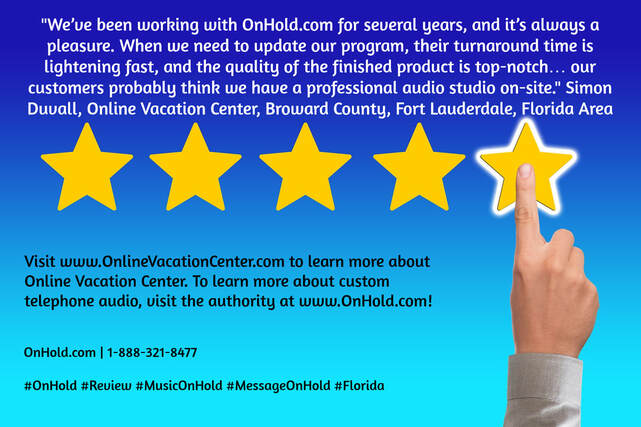 Online Vacation center Review of OnHold.com
