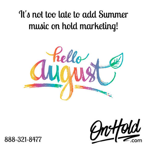 Summer Music On Hold Marketing from OnHold.com