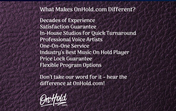 What Makes OnHold.com Different?